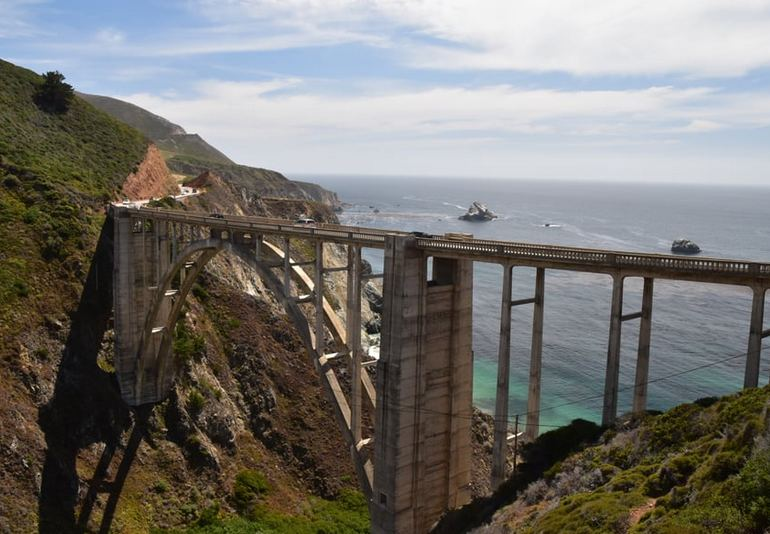 Bixby Creek Bridge Big Sur Road Trip