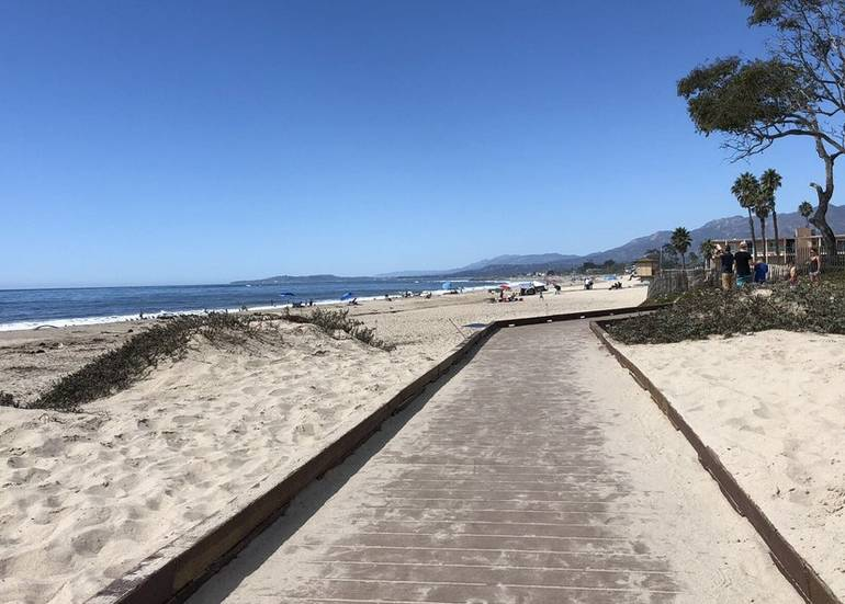 Carpinteria State Beach Boardwalk