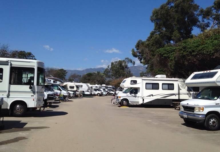 RV CampingCarpinteria State Beach