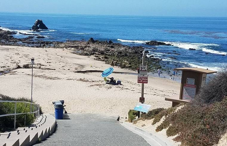 Corona Del Mar Little Corona Beach
