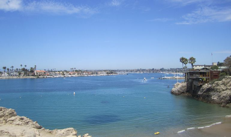 Newport Harbor Entrance Corona Del Mar
