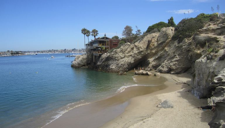 Corona Del Mar Orange County Day Trip