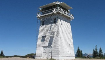 California Lookout Tower and Guard Cabin Camping
