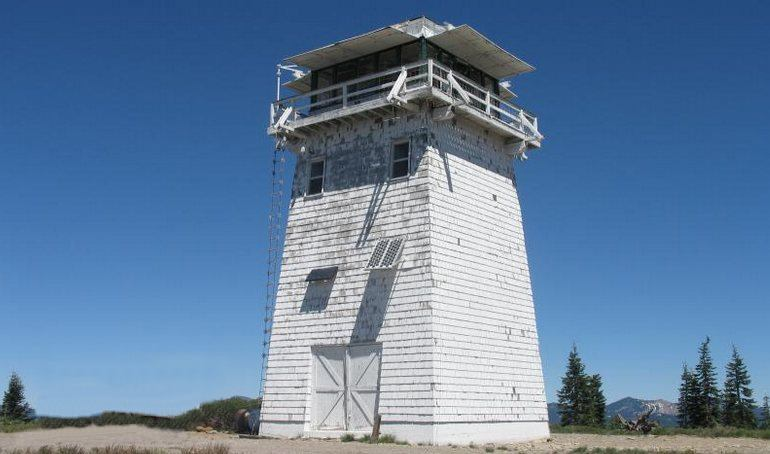 California Lookout Tower Camping