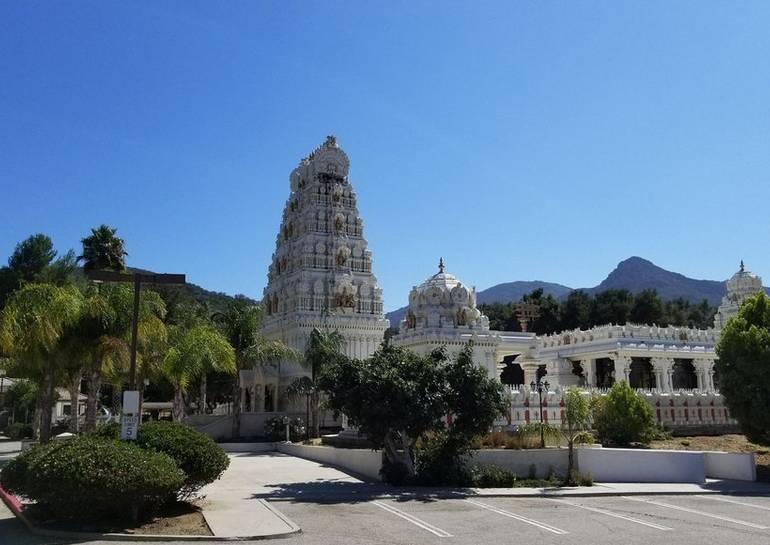 Malibu Hindu Temple  Calabasas, California