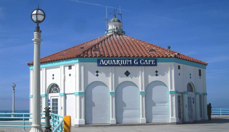 Manhattan Beach pier aquarium
