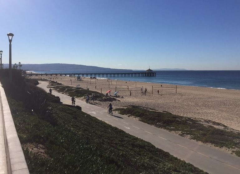 Manhattan Beach Bike Trail