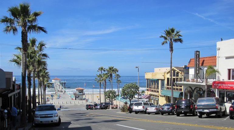 Manhattan Beach Ca To Hermosa Beach Ca