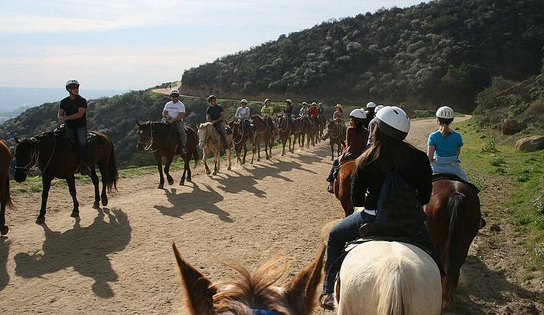 Sunset Ranch Griffith Park Trail Rides