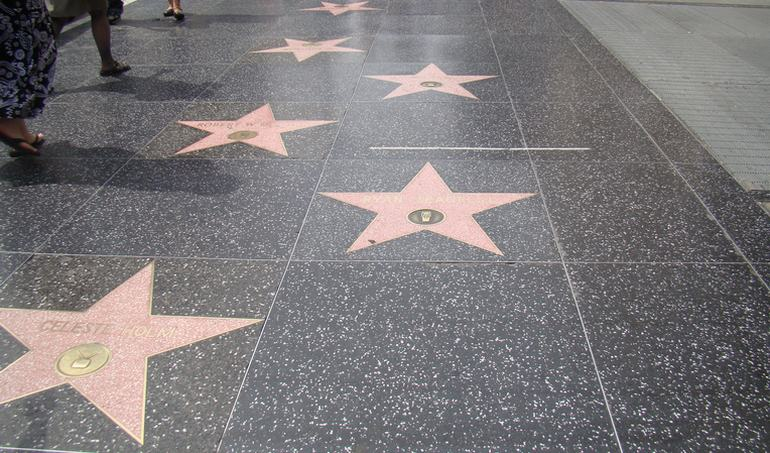 Hollywood Boulevard Walk of Stars