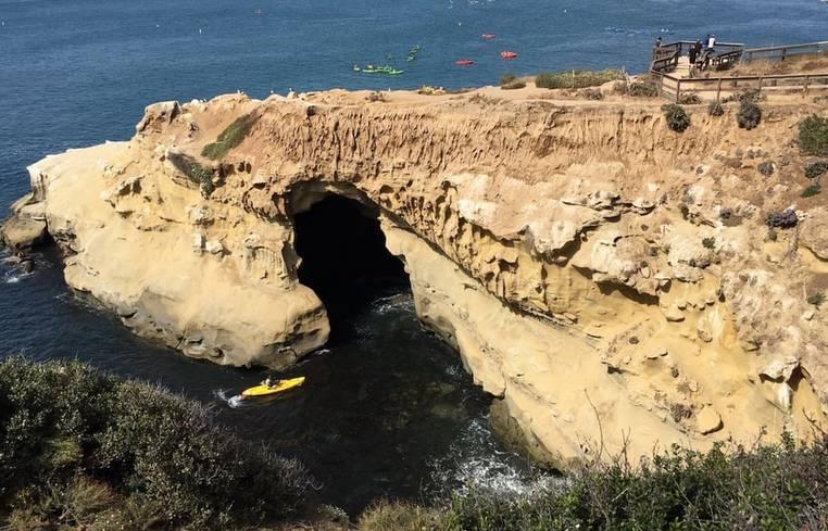 Clam's Cave La Jolla