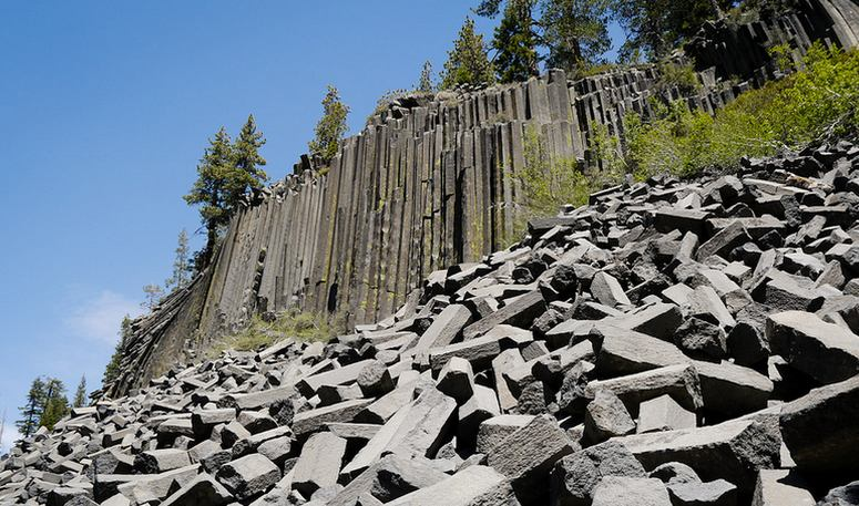Devils Post pile National Monument