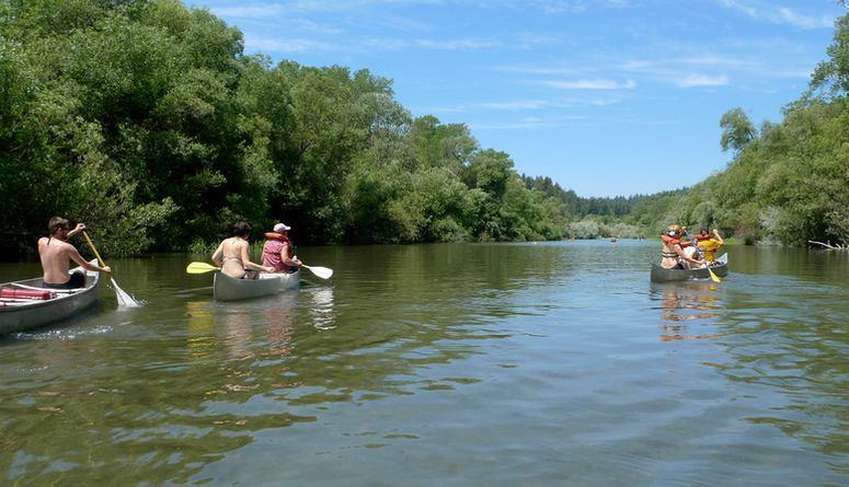 Kayak Trip Russian River Guerneville