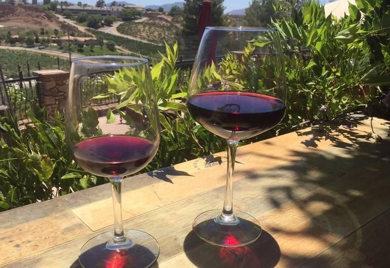 Temecula Wine Tasting Miramonte Winery Great Outdoor Views