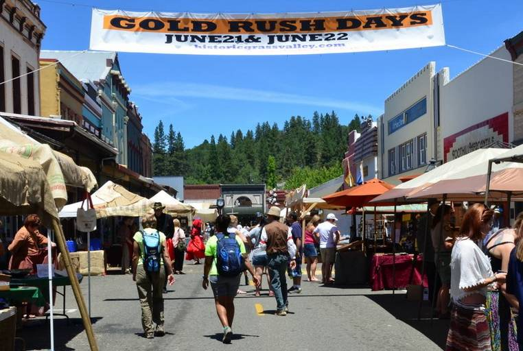 Nevada City celebrates Gold Rush Days