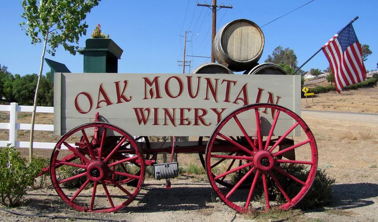 Temecula Wine Tasting Oak Mountain Winery