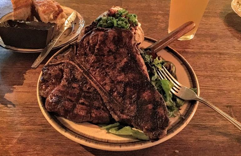 Old Place Restaurant Oak-Grilled Steak
