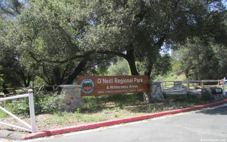 O'Neill Regional Park Entrance