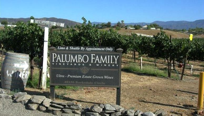 Palumbo Family Vineyards Temecula