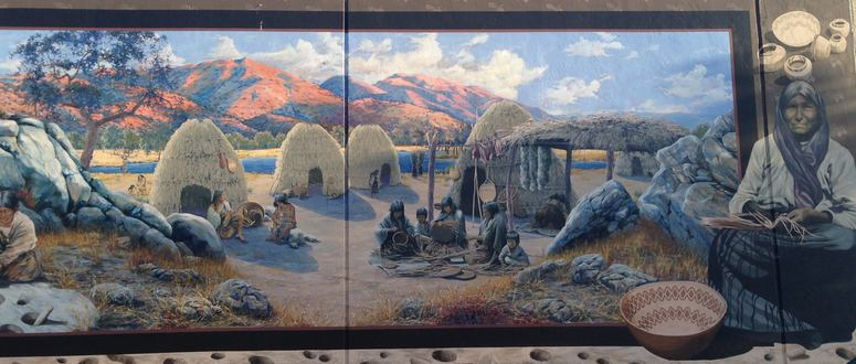 People of the Mountains Mural Tehachapi