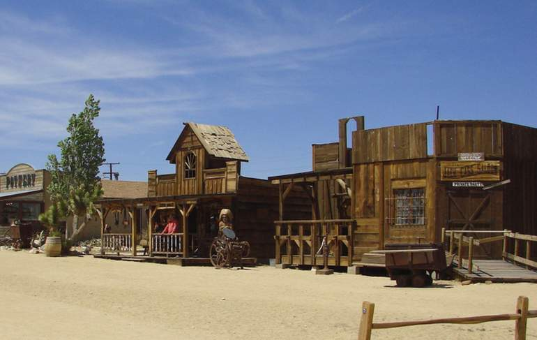 Pioneer Town Western Movie Set
