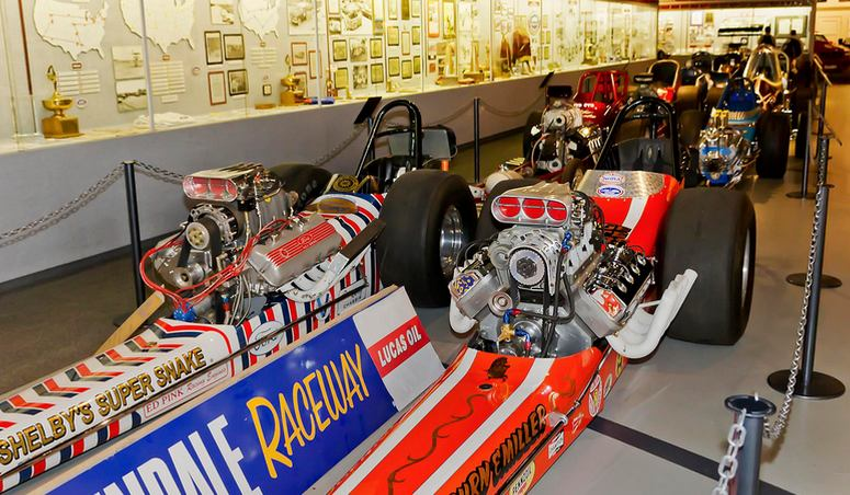 Day Trip to Hot Rod Museum Pomona NHRA Motorsports