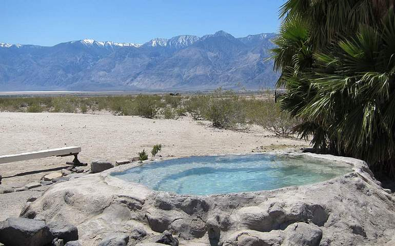 Saline Hot Springs Death Valley