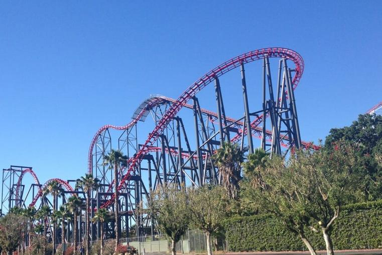 Six Flags Valencia California