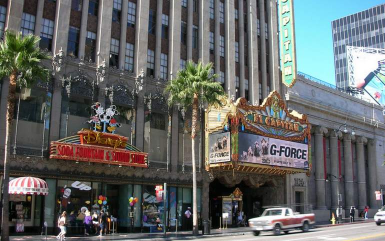 El Capitan Theater Hollywood