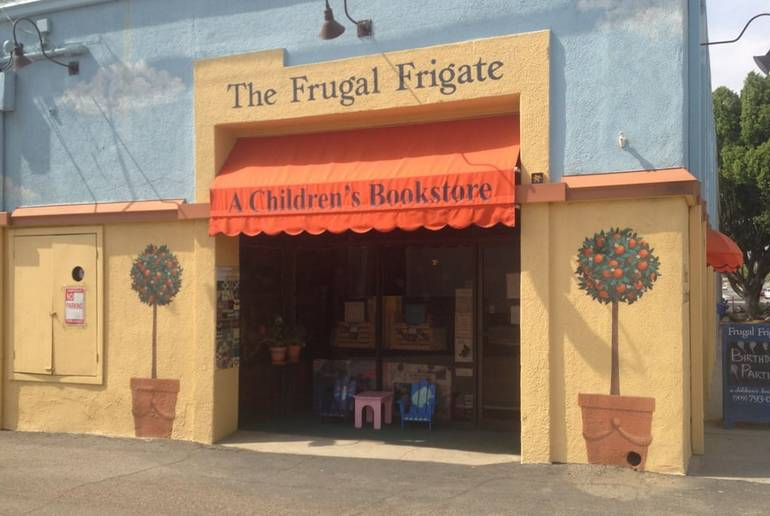 Frugal Frigate Children's Bookstore Downtown Redlands CA