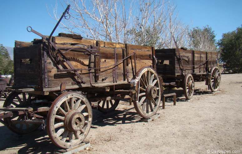 Wagons Eastern California Museum