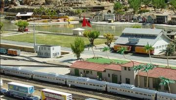 Fairplex Garden Railroad Kids Day Trip