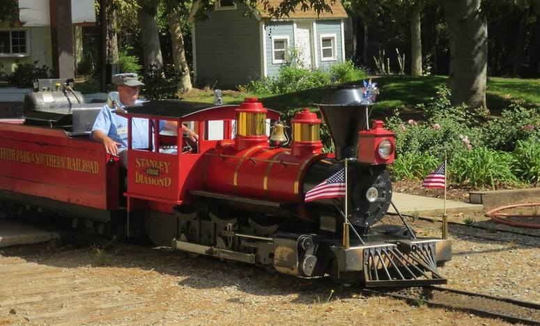 Griffith Park & Southern Railroad Train Rides