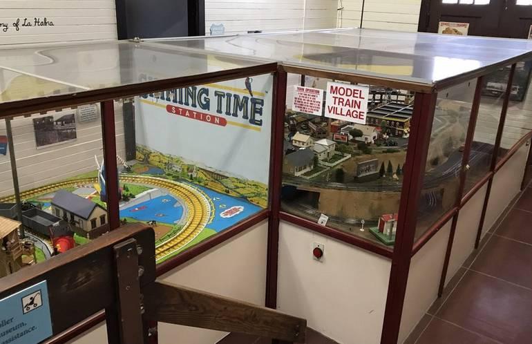 La Habra Children's Museum Model Train Area