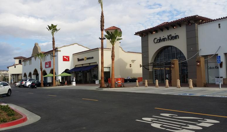 Outlets At San Clemente Ocean View Shopping