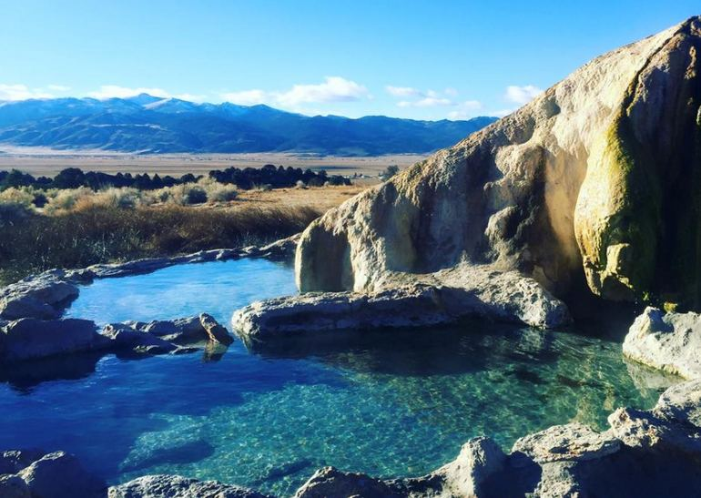 Travertine Hot Springs Bridgeport CA