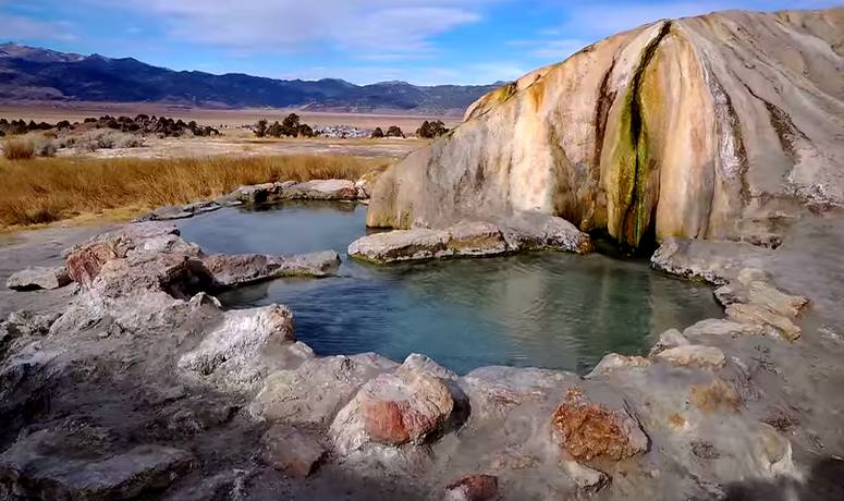 Travertine Hot Springs, Bridgeport, CA