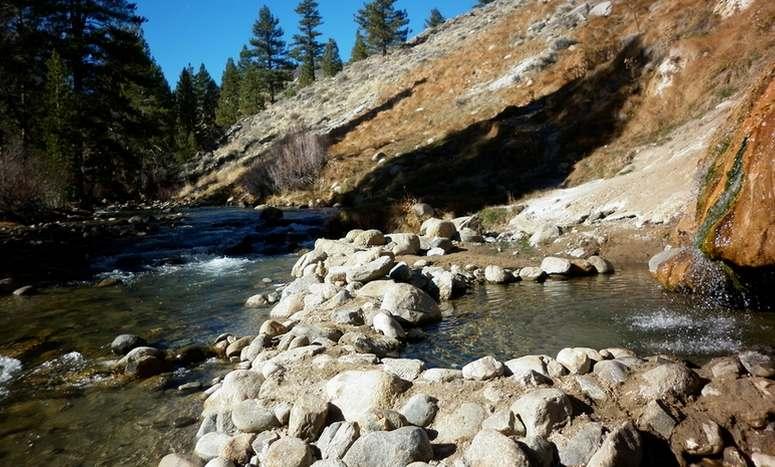 Eastern Sierra Natural Hot Springs