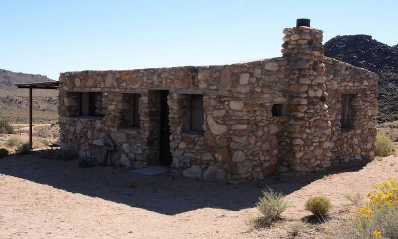 Mojave Rock House