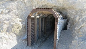 Burro Schmidt Tunnel Mojave Desert