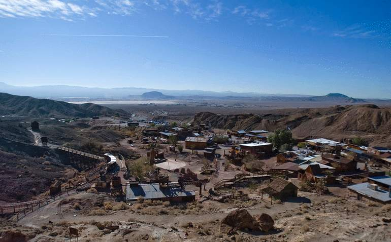 Calico Ghost Town Barstow, California