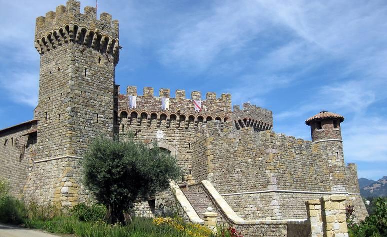 Calistoga Castle Castello di Amorosa