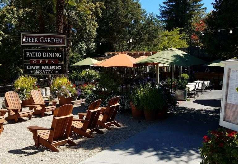 Calistoga Inn Restaurant & Brewery