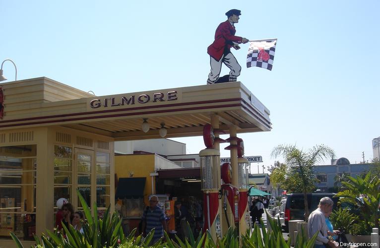 Gilmore Gas Station Los Angeles Farmers Market