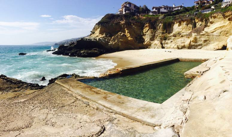 1000 Steps Beach Saltwater Pools Laguna Beach