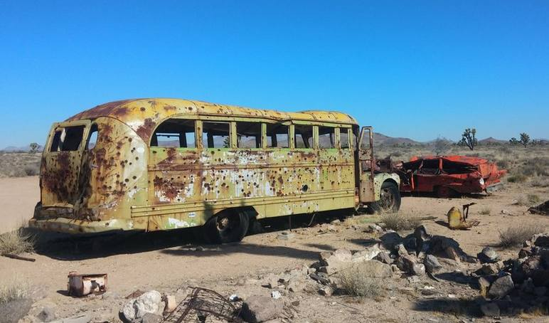Mojave Trail School Bus
