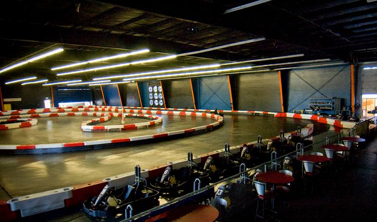 Indoor Go Kart Racing Track