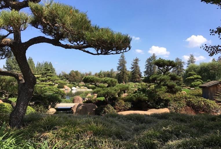 Japanese Garden Van Nuys California