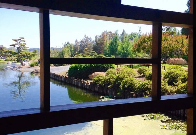 Japanese Garden Van Nuys Shoin Building