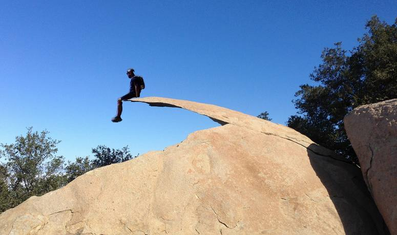 image of Potato Chip Rock in Ramona, CA